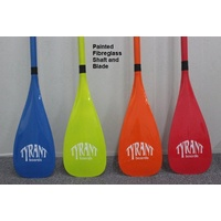 Tyrant Full Fibreglass SUP Paddle Painted